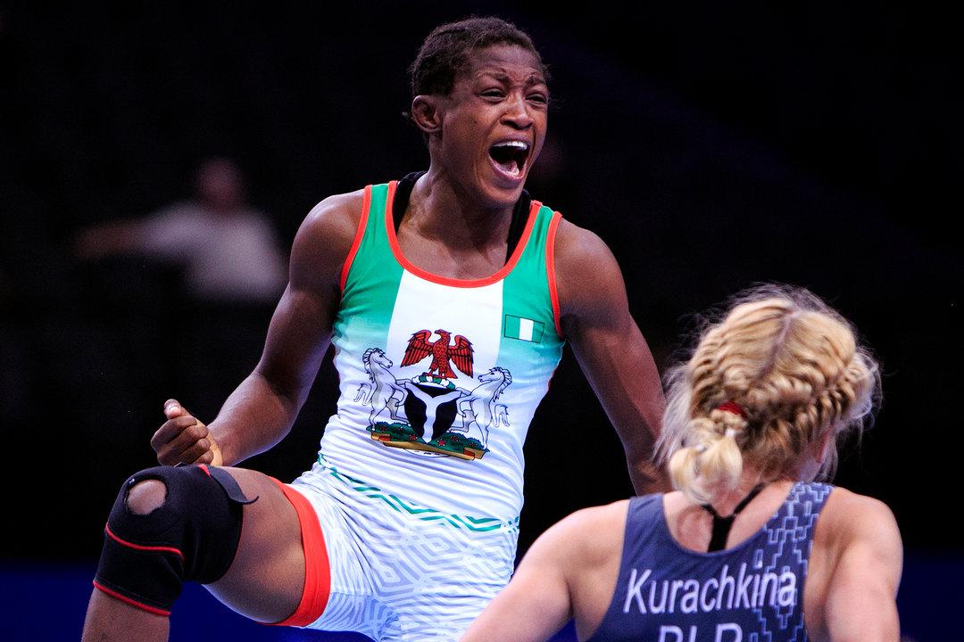 2019 Germany wrestling grand Prix: Gold medal triumph excites Adekuruoye