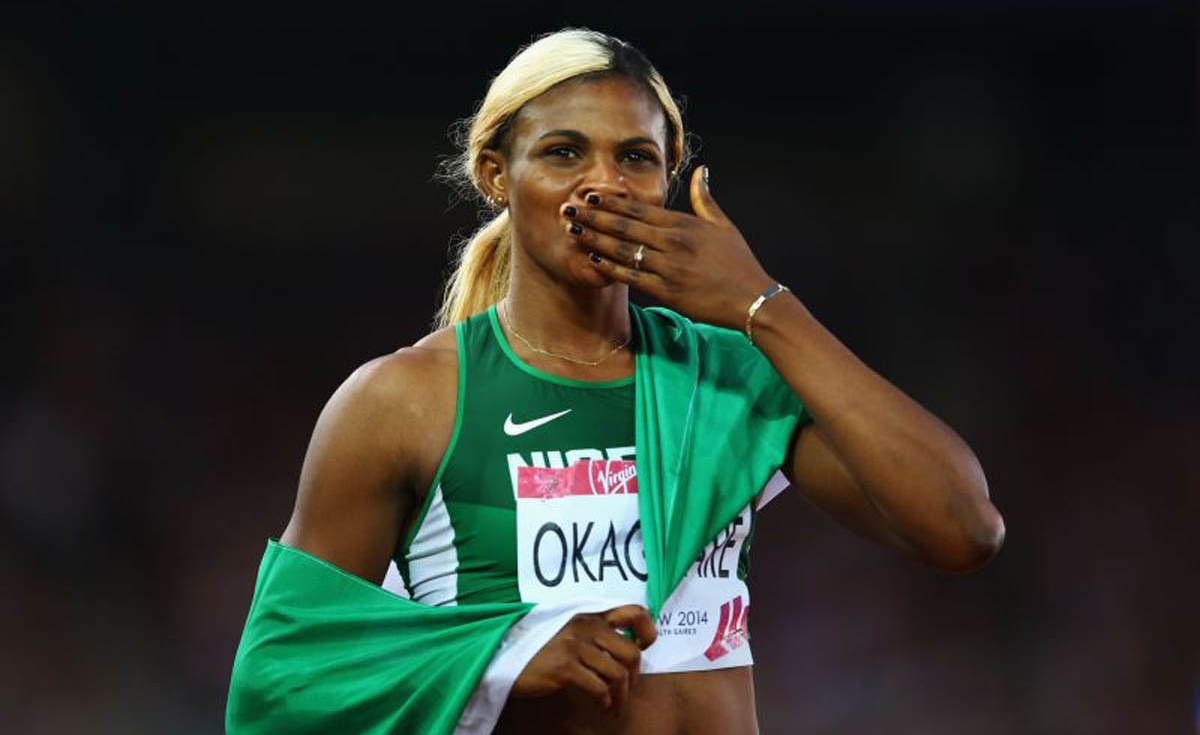 Nigerian Queen of tracks Blessing Okagbare shares 'priceless' advice