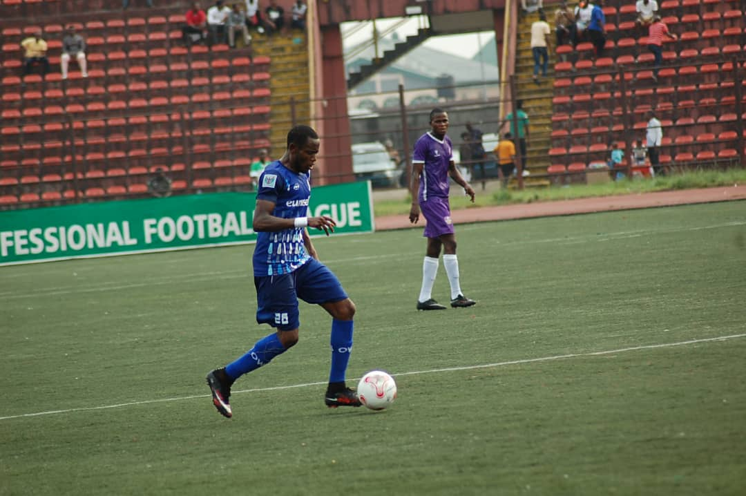 Rivers Utd's Ubakanma calls for total commitment after defeat at Enyimba