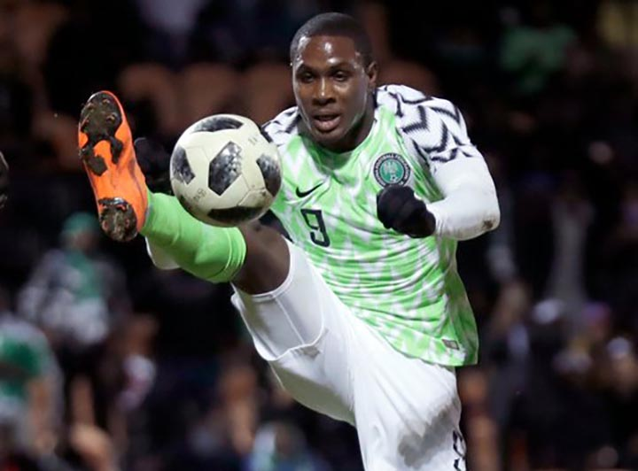 Ighalo To Lead Super Eagles Attack Against Guinea
