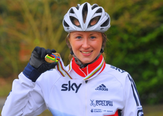 Victoria Williamson returns to Cycling after Paralysis scare