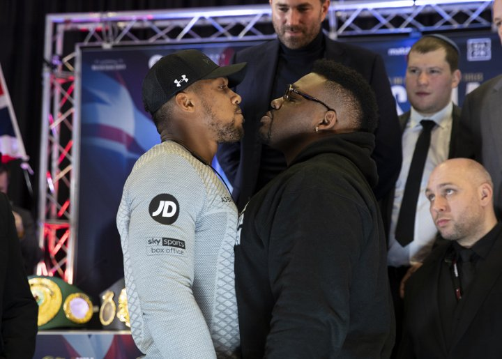 Joshua vows to 'strip Miller of his soul' in US heavyweight bout