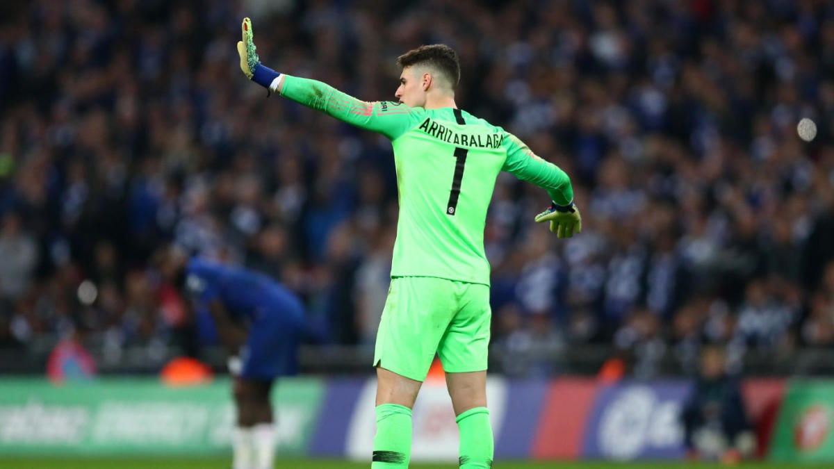 KEPA Arrizabalaga still Chelsea's first-choice keeper, says Sarri