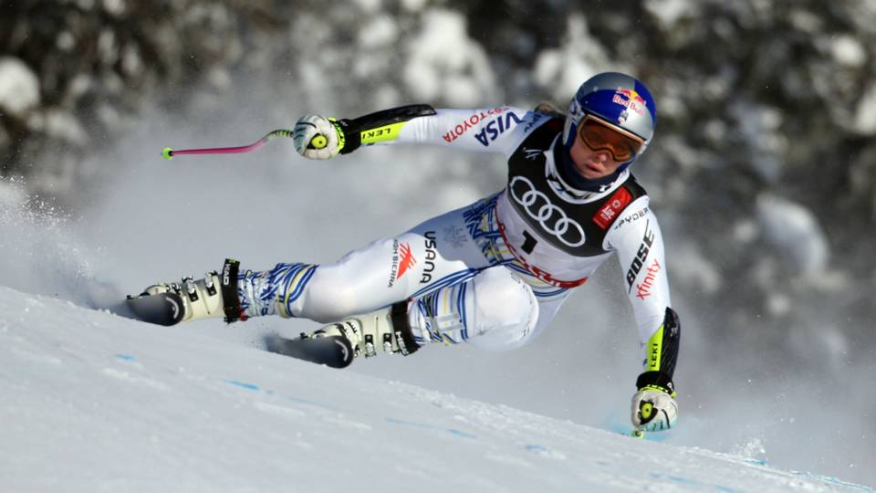 I'm not giving up! I'm just starting a new chapter- Lindsey Vonn