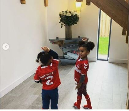 Mikel Obi shares photo of his biggest fans