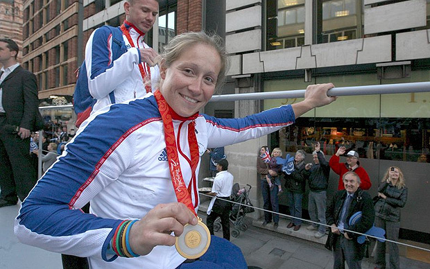 2 Paralympic gold medals; Rachael Morris has a new challenge in her sights