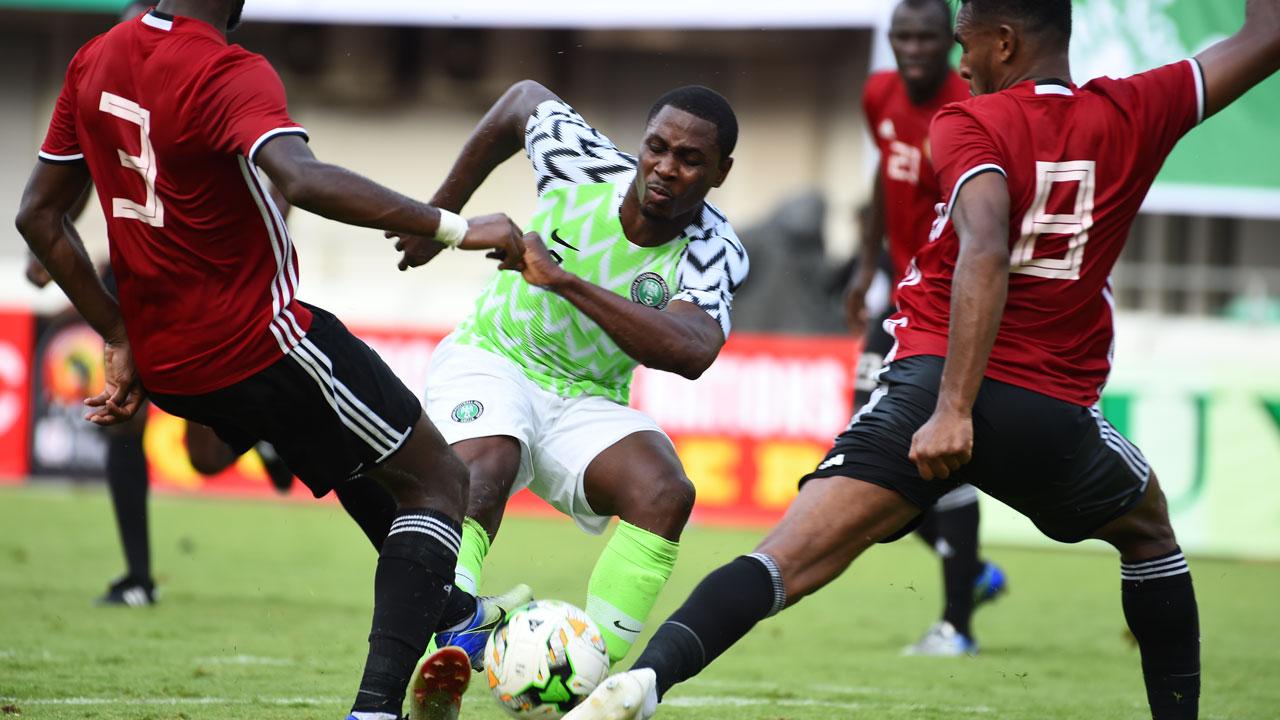 Moses, Onyekuru, Ighalo on target as Eagles beat Seychelles 3-1 in Asaba