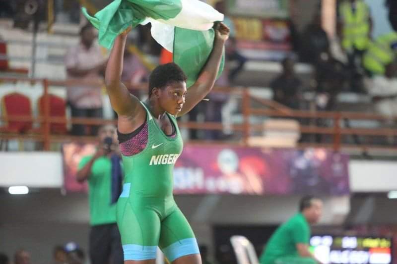 Balogun Sumisola out to make impression at the Africa Wrestling Championship