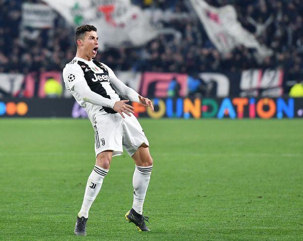 Ronaldo charged by UEFA for Atletico Madrid celebration