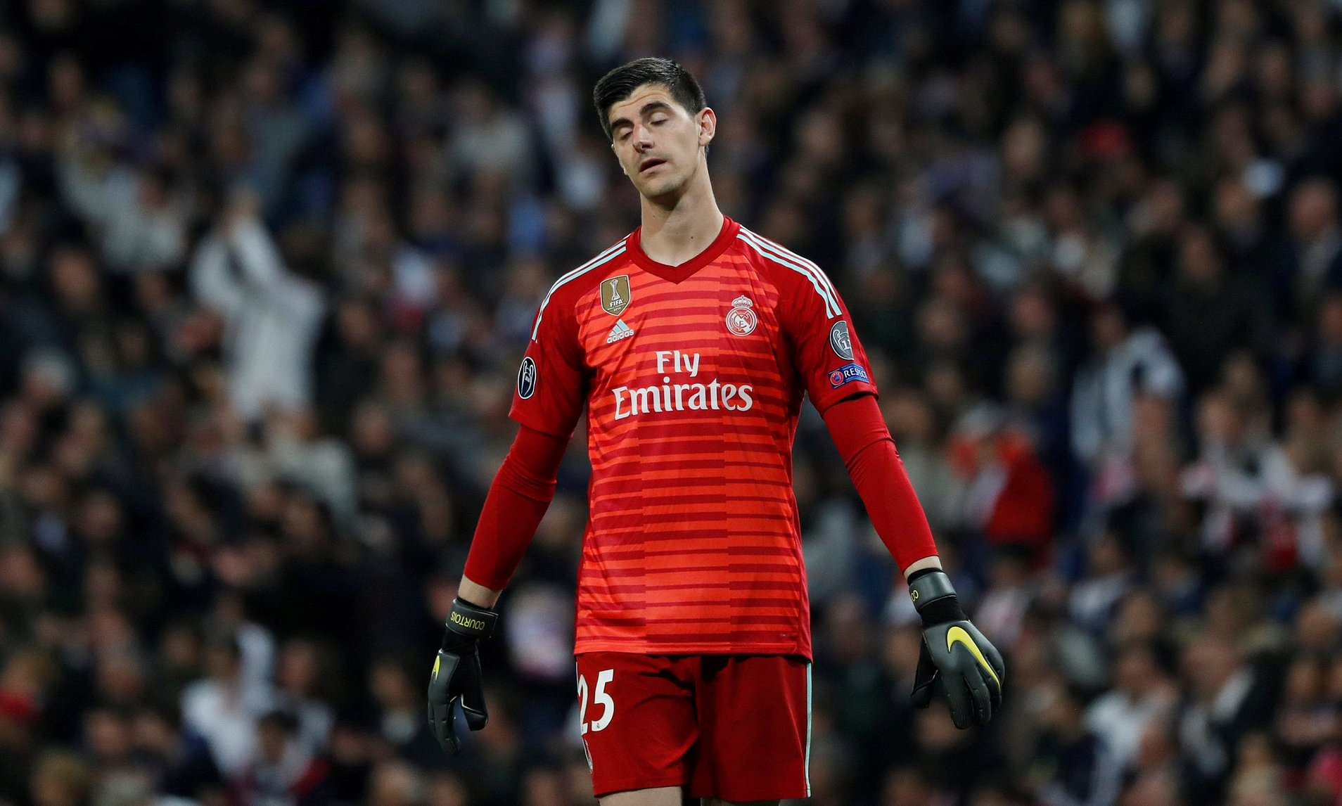 Zidane DROPS Courtois recalls Keylor Navas to Madrid's first XI