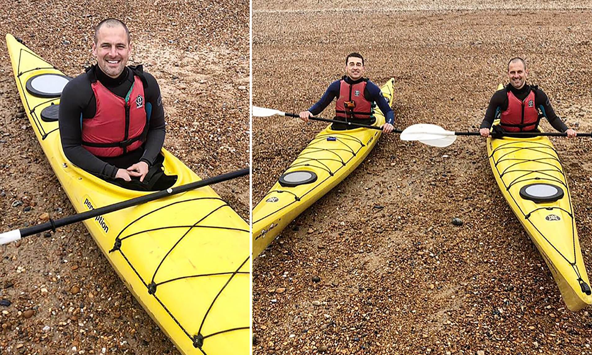 Joe Cole PLANS to cross the English Channel in a kayak boat