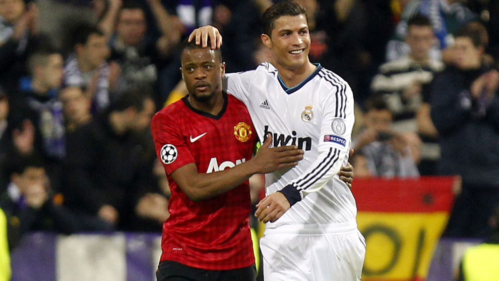 Evra reveals 'unbelievable' WhatsApp chat from Ronaldo before Atletico masterclass