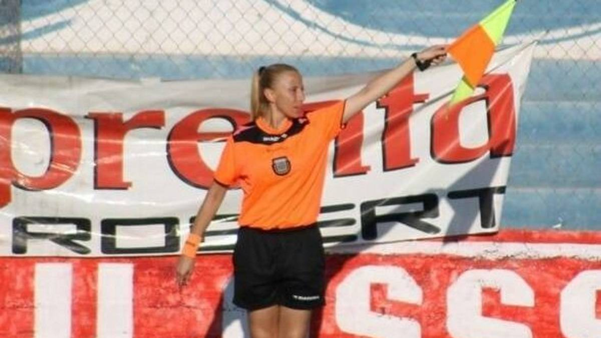 Female Assistant referee who suffered hot water attack from fans won't give up