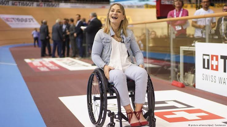 I'm in a wheelchair, but it's not the end of my life – Kristina Vogel