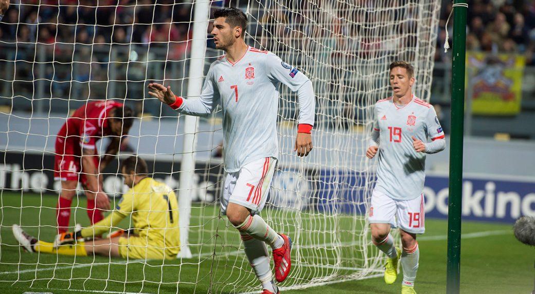 Morata dedicates Spain win over Malta to Boss Luis Enrique