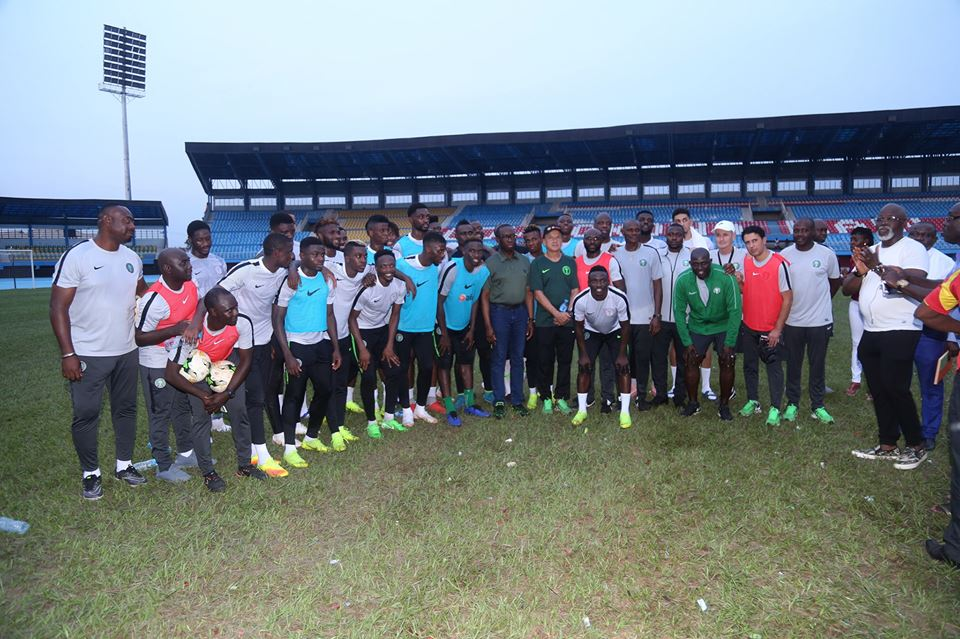 Delta state will jump at the chance to host Eagles in future, says Okowa