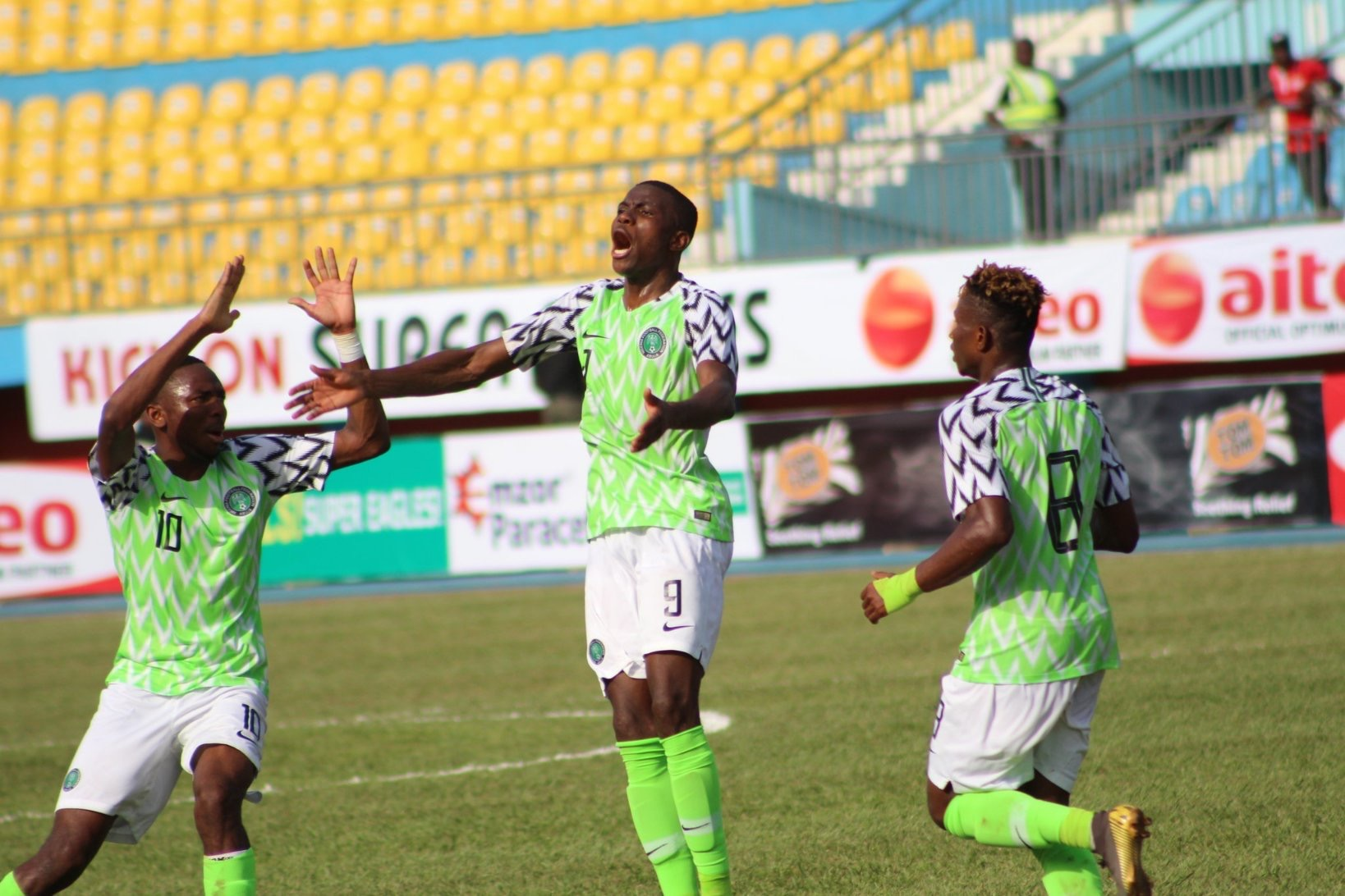 Osimhen nets hat-trick as Nigeria's U23 beat Libya 4-0 in Asaba