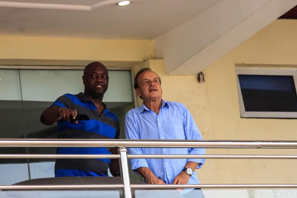 Eagles enjoy playing at Stephen Keshi Stadium, says Toyin Ibitoye