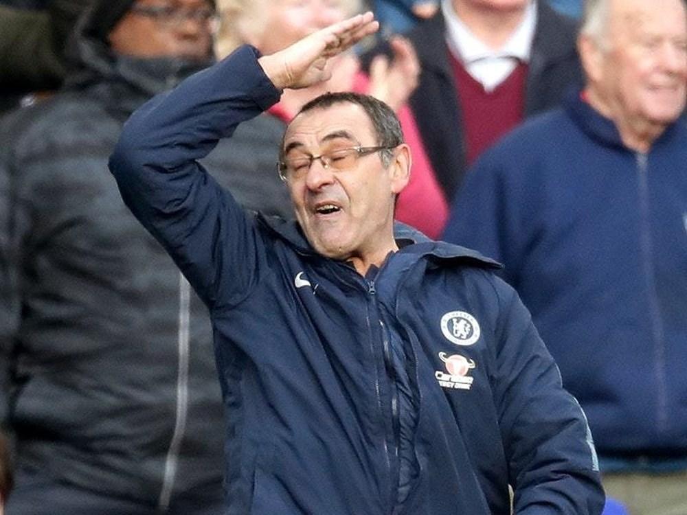 "Sarri ""cannot explain"" Chelsea collapse at Everton"