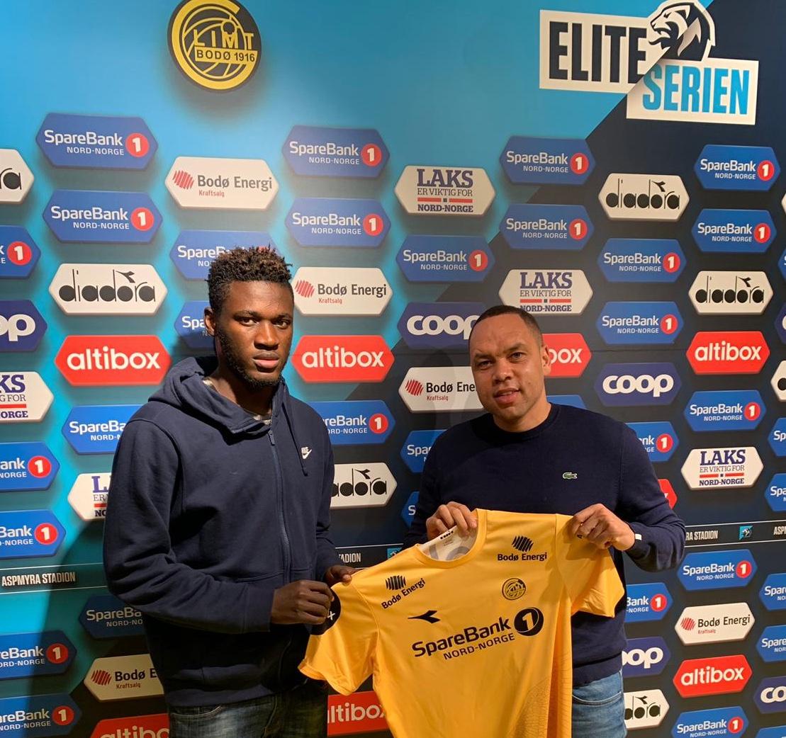 Flying Eagles' stars Victor Boniface joins Norwegian side Bodo/Glimt