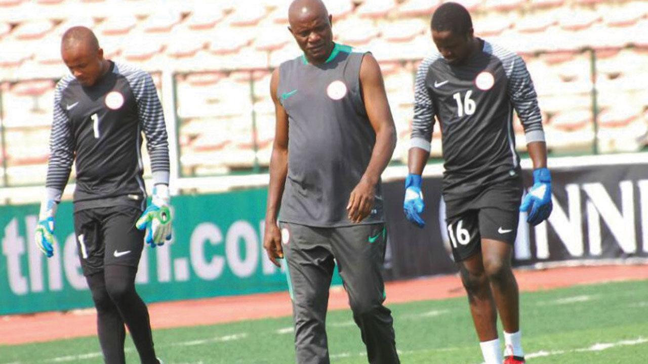 Alloy Agu reiterates confidence in Eagles goalkeepers