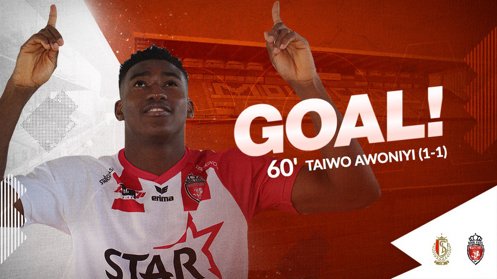Red hot Awoniyi nets sixth Royal Excel Mouscron Goal