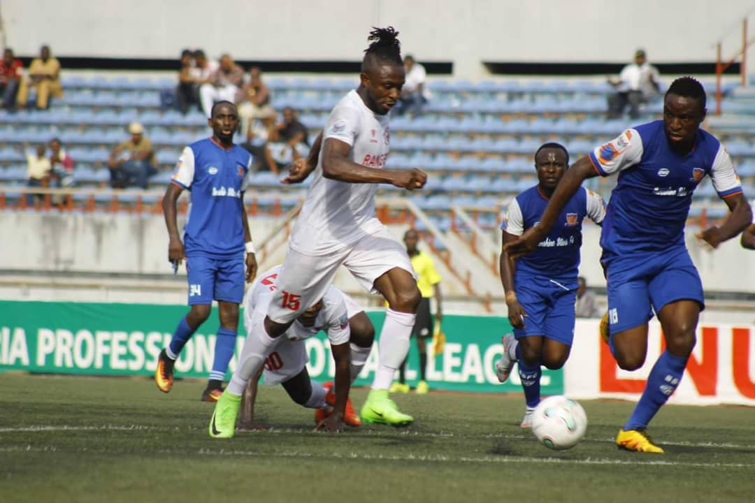 Gabriel Olalekan's own goal gives Rangers scrappy win over Sunshine Stars