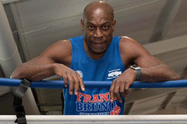 Frank Bruno thought he was going to die after being struck down by pneumonia