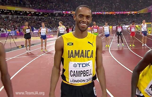 Jamaican athlete Kemoy Campbell wants to be back on track after dying
