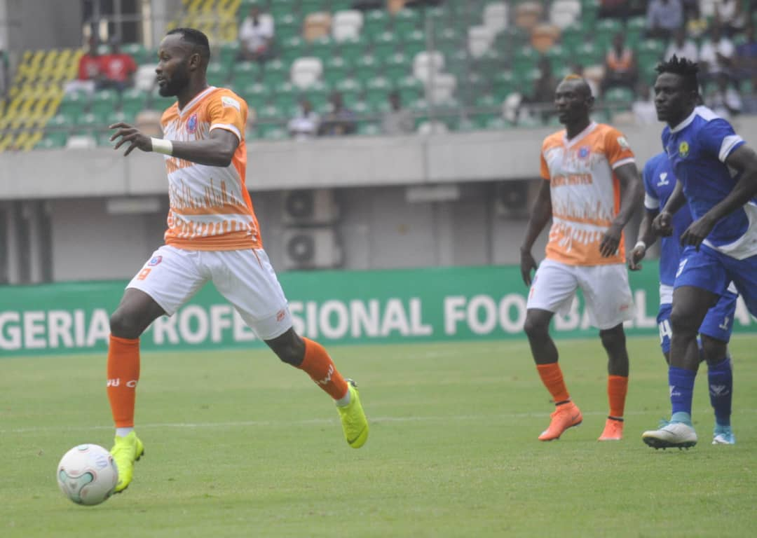 Mfon Udoh Rescues A Point For Akwa United In Warri