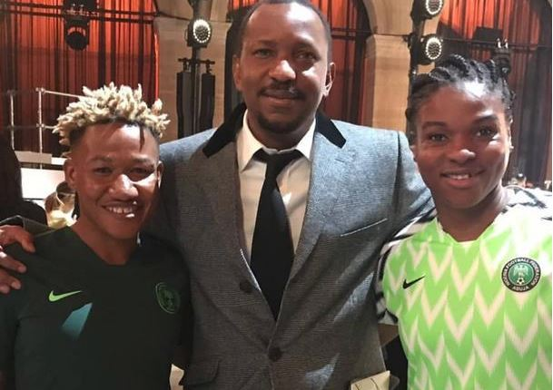 NFF, Nike unveil 2019 Super Falcons' World Cup jerseys in France