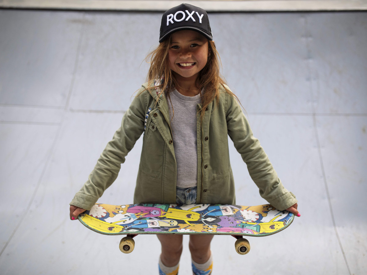 'I can do anything'- 10-year-old Skater preparing for Tokyo 2020