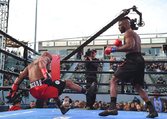Ajagba destroys another opponent in 2nd Round KO
