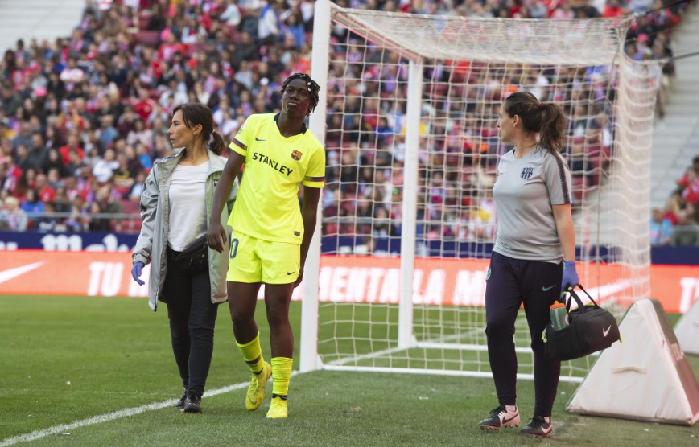 Asisat Oshoala's Champions League return delayed