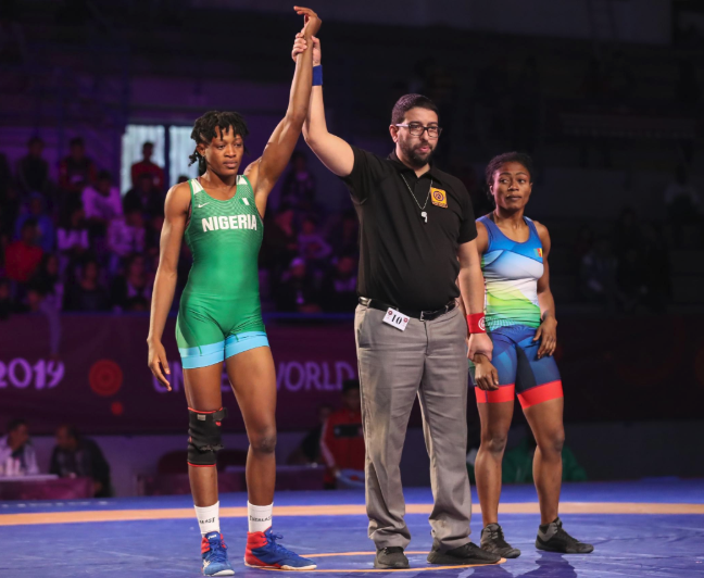 Adekuoroye, Oborududu and two other wins gold for Nigeria at on-going Africa Wrestling Championship