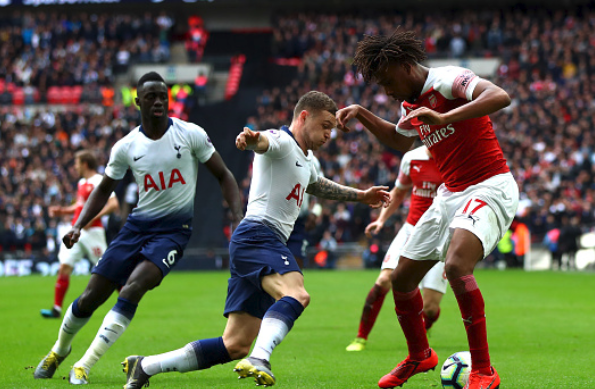 Alex Iwobi's 6th NLD ends in a draw at Wembley