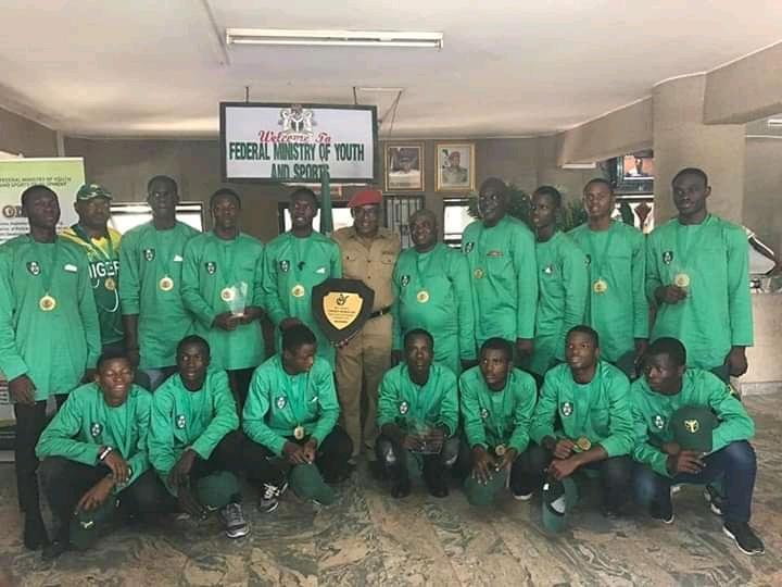 Sports Ministry hosts Nigeria's World Cup bound U-19 Cricket team