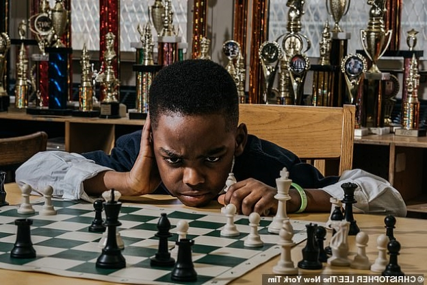 Former U.S President Bill Clinton celebrates 8-Year-Old Nigerian Chess Star