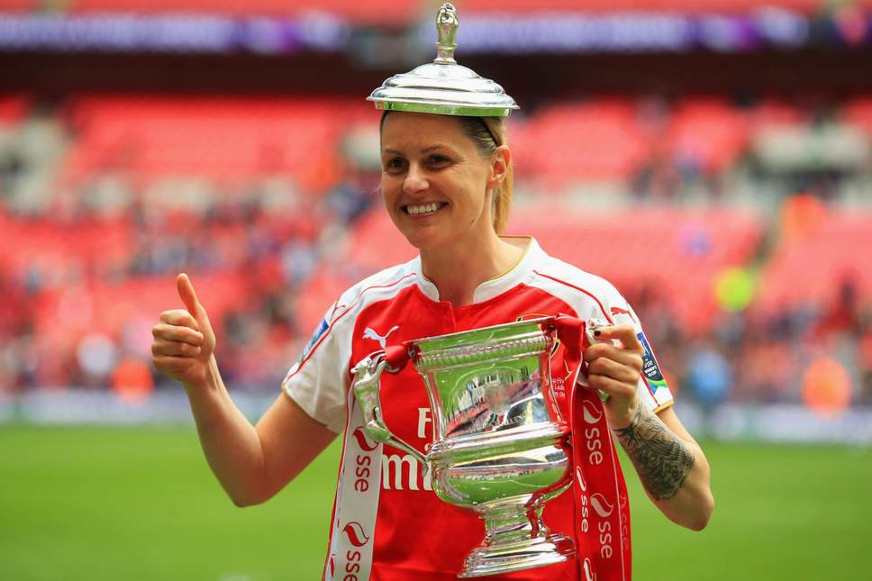 Arsenal Legend Kelly Smith had the dream, but playing in a boys' team was unacceptable