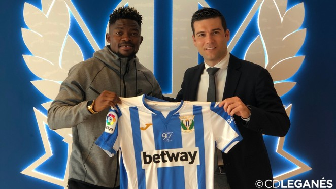Omeruo's younger brother Lucky breaks into CD Leganes' first team
