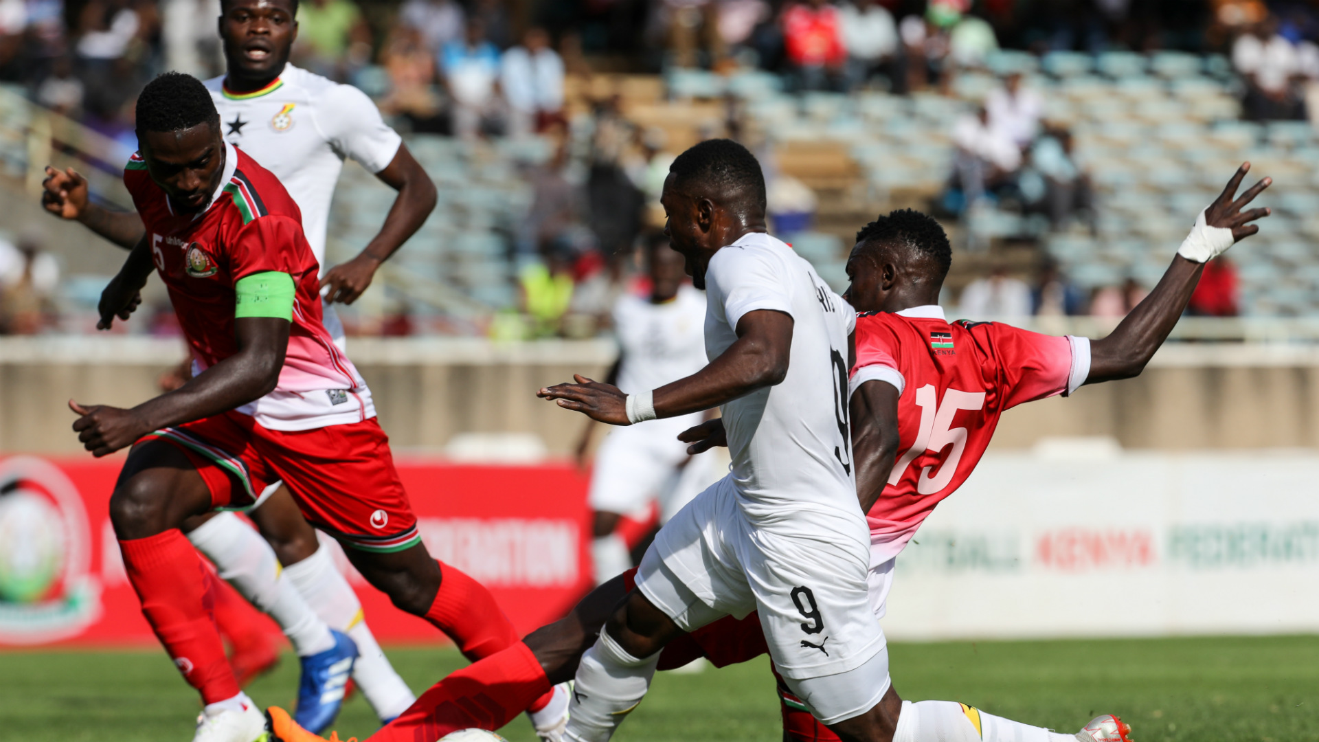 Na Battle of the Stars as Ghana, Kenya jam for 2019 Afcon qualifiers