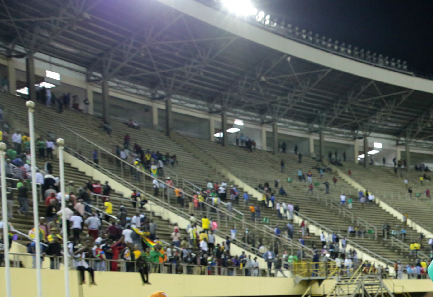 One fan kpuff as Zimbabwe, DR Congo qualify for Afcon 2019
