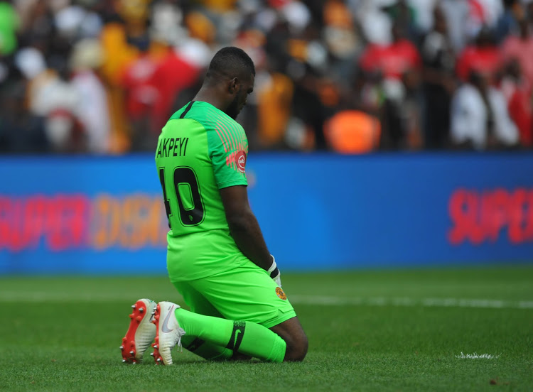 Akpeyi's worrying Kaizer Chiefs record