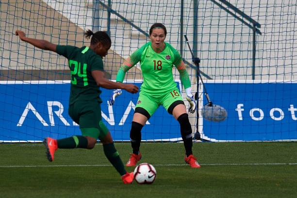 Oparanozie on target as Ashleigh Plumtre debuts for Nigeria against Olimpija Ljubljana