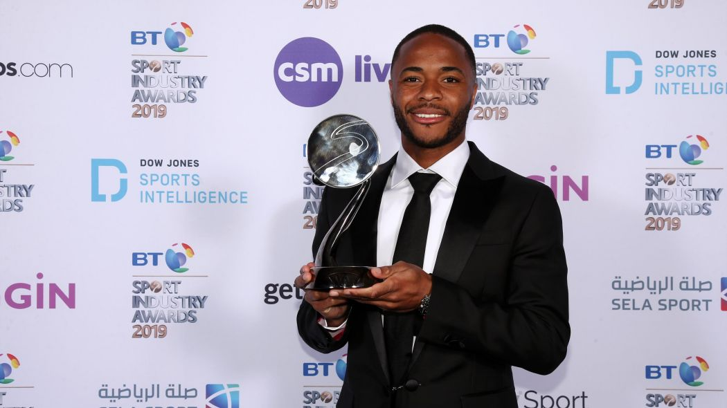 Raheem Sterling gets Integrity and Impact Award for fight against racism