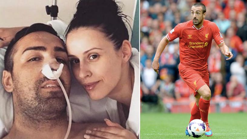 Former Liverpool defender Jose Enrique beats Cancer