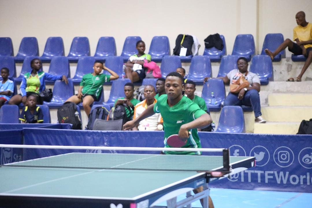 ITTF Junior Championship: Nigeria outclassed Egypt in Accra