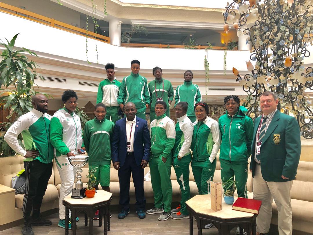 Nigeria Wrestling team to arrive Lagos today