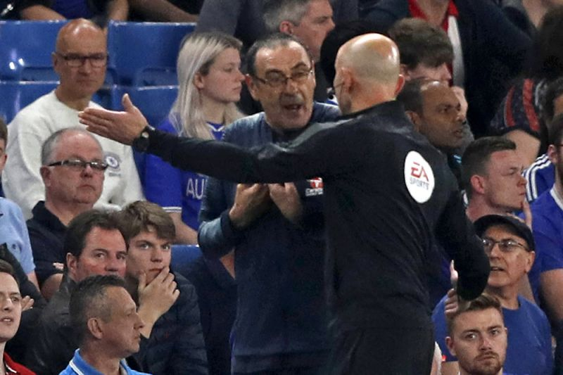 Chelsea boss Maurizio Sarri charged with misconduct