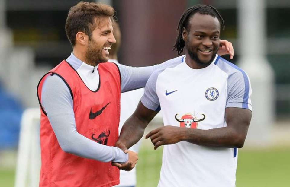 For the Fun of it! Fabregas shades former Chelsea teammates, calls Moses a loser!